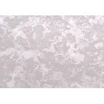 Verzierwachsplatte matt silber marmoriert