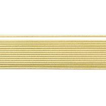 Verzierwachsstreifen, gold,2mm 29 Stück, Rundstreifen