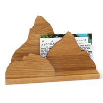 Briefständer Zettelherberge aus Eiche