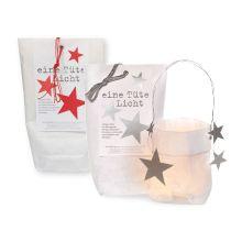 eine Tüte Licht für Weihnachten - Lichttüten aus Papier