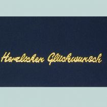 Stickerbogen, Herzlichen Glückwunsch, 10 x 23 cm