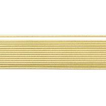 Wachsstreifen, gold 2mm x 20cm