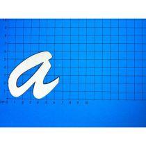ABC Holz Kleinbuchstaben Schreibschrift 100mm natur