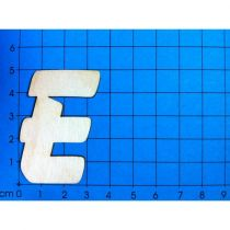 ABC Holzbuchstaben natur  Kleinteile gelasert 19mm, 33mm, 50mm, 80mm, 120mm