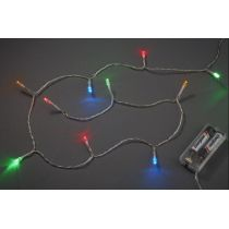 CREApop®Batterie-LED Lichterkette 10-tlg. oder 20 tlg - bunt