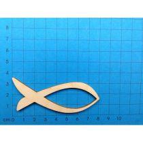 Fisch modern mit Ausschnitt; 30 mm -