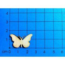 Holz Kleinteile gelasert Schmetterling