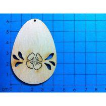 Osterei Einzelblüte 60 mm
