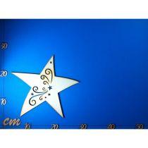 Stern mit Tribal  30mm - 250mm