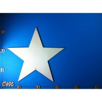 Stern symmetrisch ohne Ausschnitt 20mm - 300mm