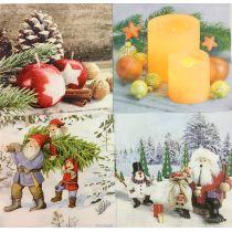20er Pack 61533 Weihnachtsservietten 33x33 cm  Home Fashion