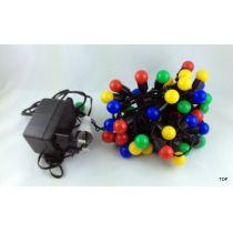 50er-LED-Multicolor-Lichterkette-Party-Feste-Weihnachten 5m