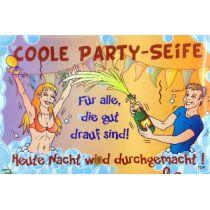 COOLE PARTY SEIFE Pflegeseife Geschenk GAG Seife 100g
