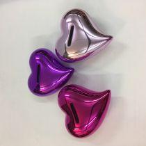 Herz Spardose Deko-Herz Geld-Geschenk Hochglanz Keramik 6 Farben