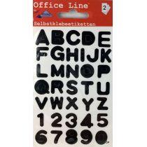 Klebebuchstaben A-Z Klebesticker Zahlen Selbstklebend Aufkleber