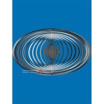 Spirale 12759 Edelstahl Oval 19,2 cm Hochglanz poliert Windspiel