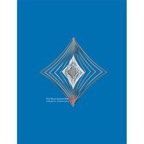Spirale 12796 Edelstahl Karo 10,3 cm Hochglanz poliert Windspiel