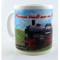 Tasse  Eisenbahnliebhaber Kaffeetasse Kaffeebecher Porzellan