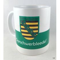 Tasse Oorschwerbleede Sachsen Kaffeetasse Porzellan