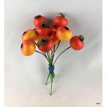 Zieräpfel künstliche Zieräpfel Dekoration jahreszeitliche