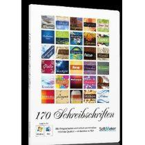 170 Schreibschriften (PC+MAC)