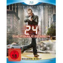 24 - Season 8/Box-Set - Ungeschnittene Originalfassung [6 BRs]