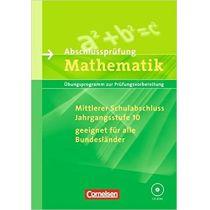 Abschlussprüfung Mathematik - 10. Klasse Mittlerer Schulabschluß