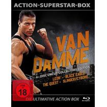 Action-Superstar-Box van Damme - Uncut [Collector´s Edition] [4 BRs]