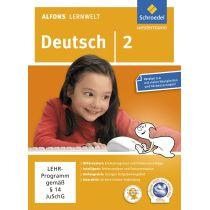 Alfons Lernwelt - Deutsch 2: Ausgabe 2009 (PC+MAC)