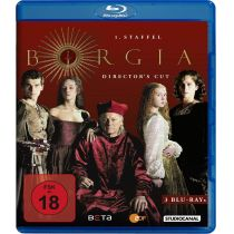 Borgia - Staffel 1 [Director´s Cut] [3 BRs]
