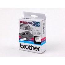 BROTHER TX241 Schriftbandkassette weiss schwarz 18mmx15m laminiert fuer P-touch 7000 8000 P-touch PC
