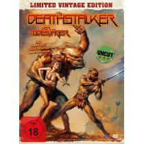 Deathstalker - Der Todesjäger - Uncut Vintage Edition (+ DVD) - Mediabook, limitiert auf 1.500 Stück, inkl. Bo