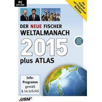 Der neue Fischer Weltalmanach 2015 plus Atlas