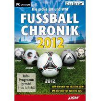 Die große EM und WM Fussballchronik 2012