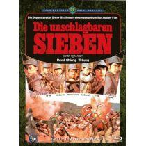 Die unschlagbaren Sieben - Uncut [Limitierte Edition] (+ DVD) - Mediabook
