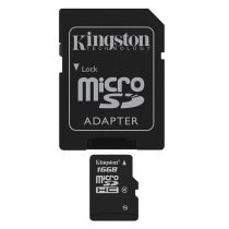 FLASH SDHC Micro Card 16GB KINGSTON Class 4 rt