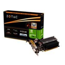 Grafikkarte ZOTAC 2GB GeForce GT 730, VGA, DVI, HDMI PCI-E