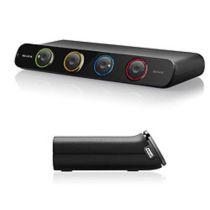 KVM Switch Belkin 4-Port USB SoHo VGA Dual Head + 1,8M Kabel