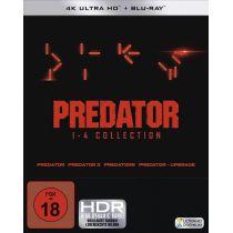 Predator 1-4 - Box (4K Ultra HD) (4 BR4K) (+ 4 BRs)