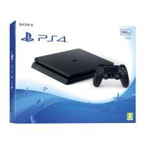 PS4 - Konsole Jet Black 500GB