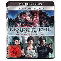 Resident Evil: Vendetta (4K Ultra HD) (+ Blu-ray 2D)
