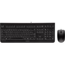 Tastatur Cherry KC 2000 schwarz, USB + Mouse 1200dpi black (DE) (JD-0800DE-2)