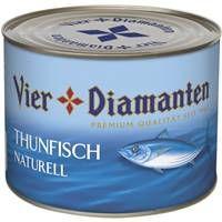 4-Diamanten Thunfisch Naturell 1,35 kg