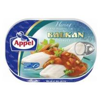 Appel Heringsfilets in Balkan Sauce 200g