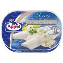 Appel Heringsfilets in Champignon-Creme 200g