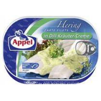 Appel Heringsfilets in Dill-Kräuter-Creme 200g