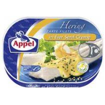 Appel Heringsfilets in Eier-Senf-Creme 200g