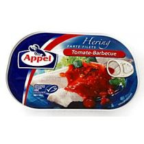 Appel Heringsfilets Tomate - Barbecue 200g