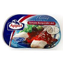Appel Heringsfilets Tomate Burgunder Art 200g