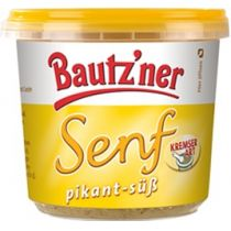 Bautzner Senf pikant-süß 200 ml